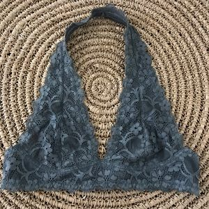 Free people intimately gray lace bralette